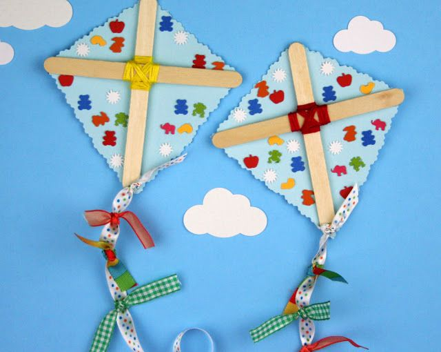 Kite Craft Love This C R A F T S Crafts For Kids Summer