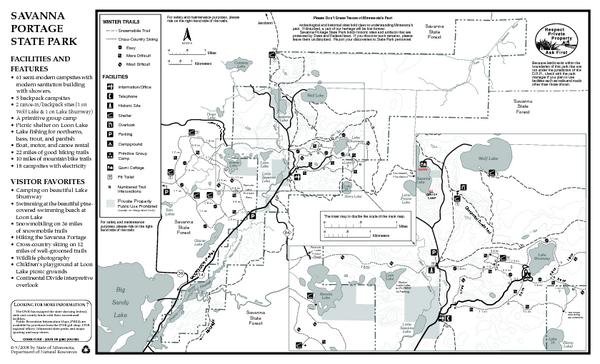 Savanna Portage State Park 5 Backpacking Sites 22 Miles Of Good Hiking Trails State Parks Savanna Park