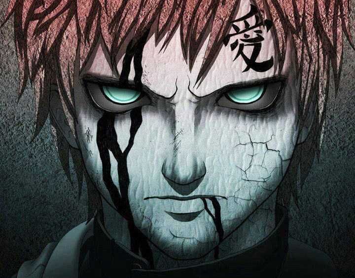 Gara S Badass Avec Images Gaara Naruto Guerrier Anime Photo