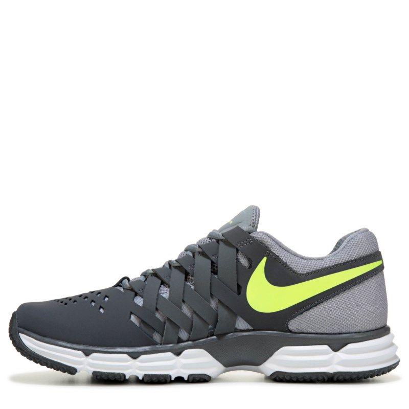6bb9e3ac0c65af Nike Mens Lunar Fingertrap TR Training Shoes (Grey Volt) - 12.0 M