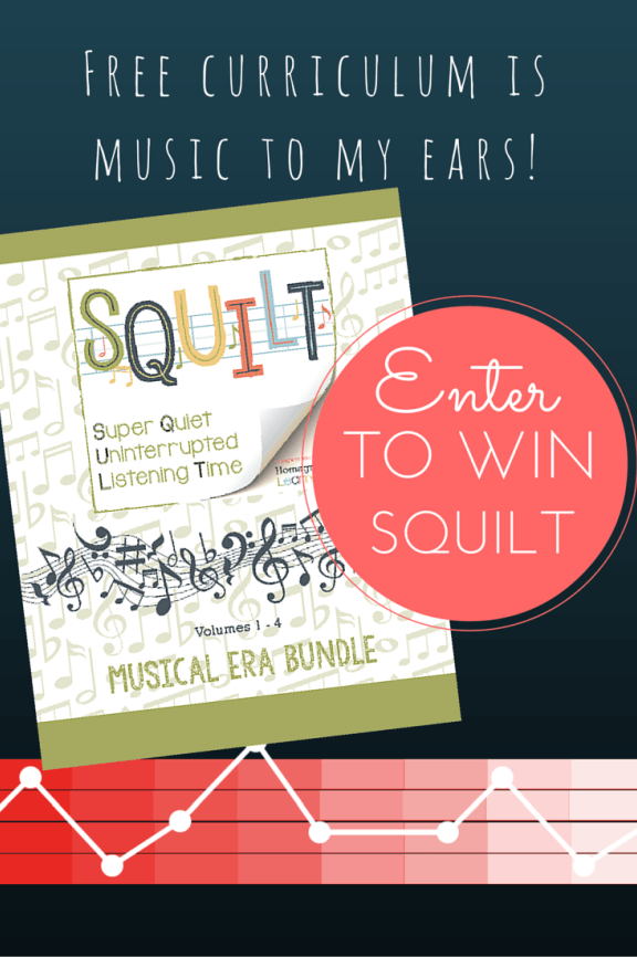 SQUILT Music Appreciation Curriculum Giveaway Music