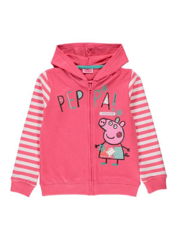 Peppa Pig zip through hoody - George at Asda  8dda144eb