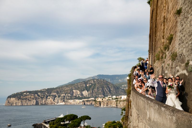 Deborah and Damien's beautiful Sorrento wedding in Italy by The Bridal Consultant
