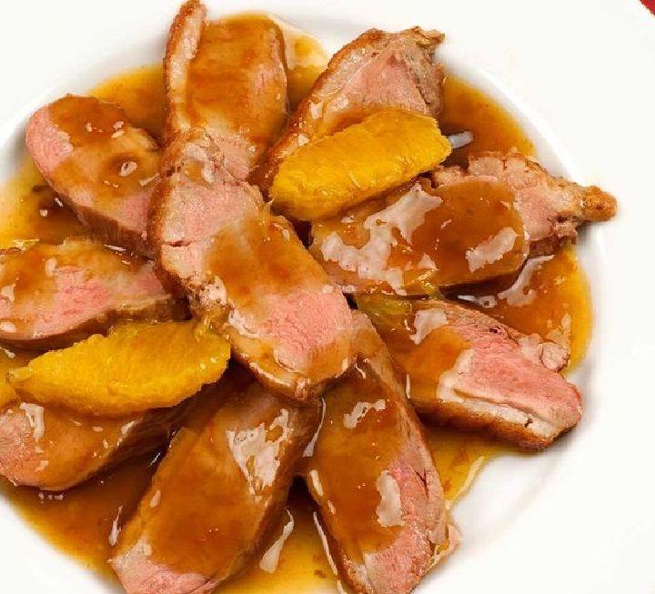 Anatra allarancia ricetta tipica della cucina toscana con la nana in gergo toscano Molti