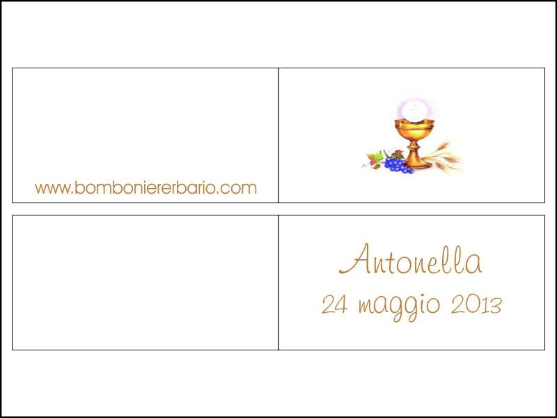 Bomboniere Uncinetto Battesimo Bigliettini Comunione Per Bomboniere Da Stampare Gratis Etichette Stampabili Gratuite Comunione Bomboniere