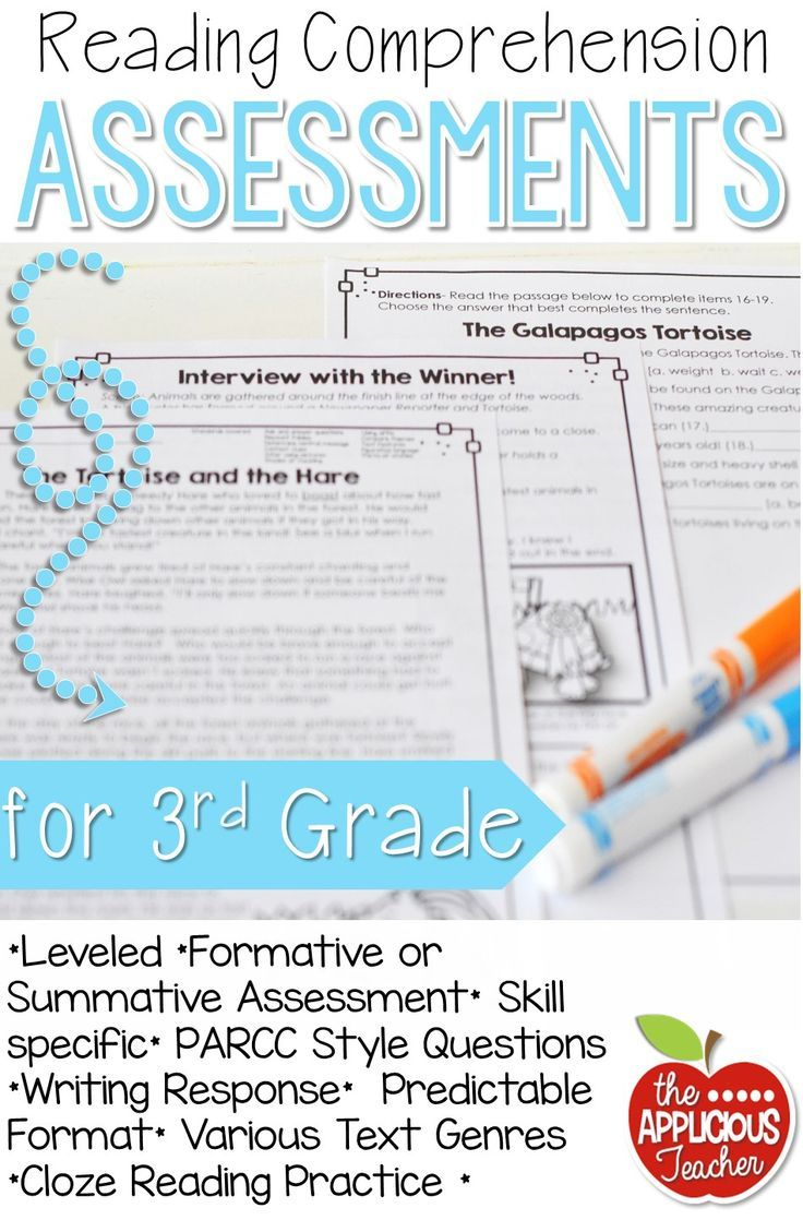 3rd Grade Reading Tests Reading Comprehension | Reading ...