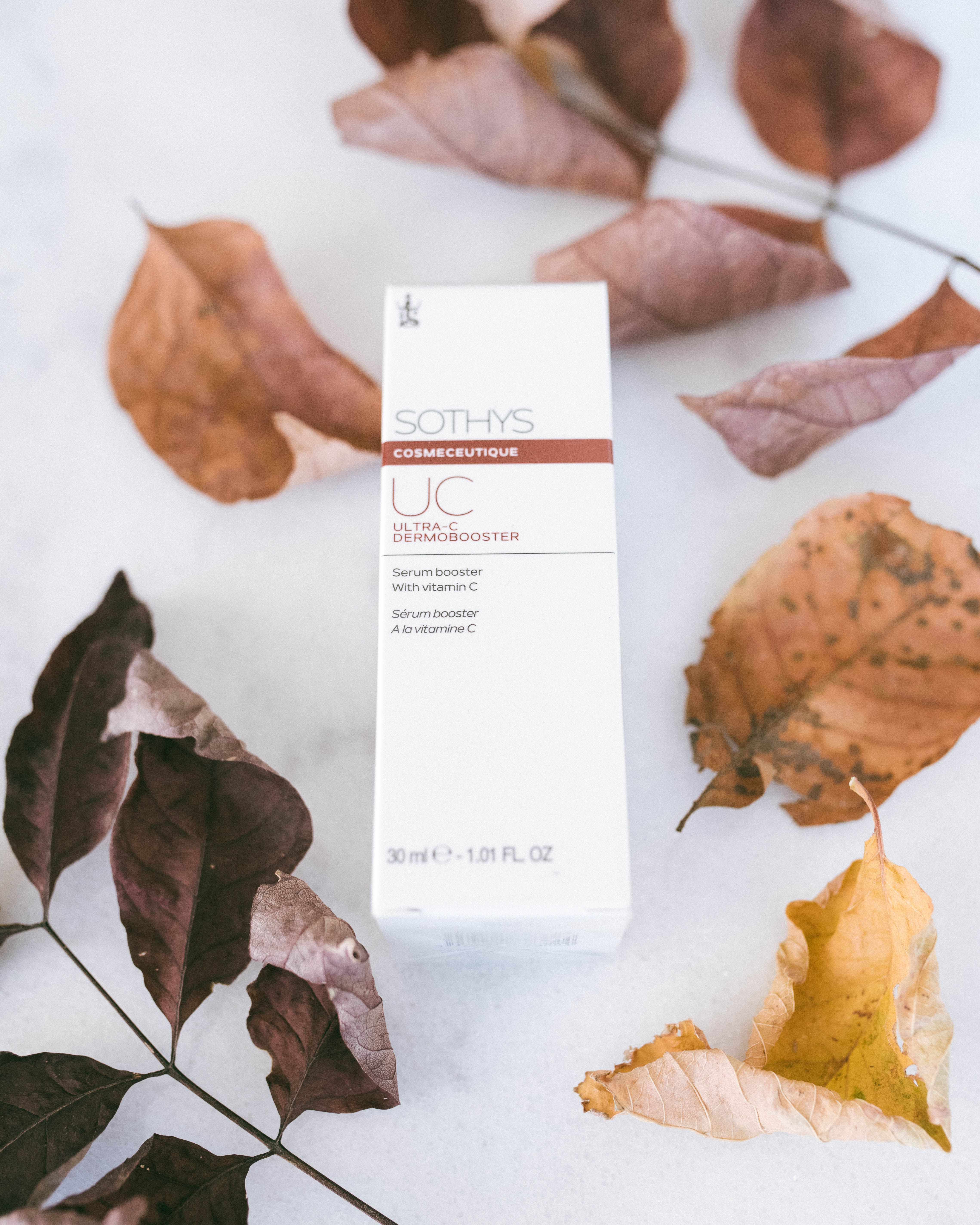 Gilla recommends Sothys Ultra-C Dermabooster for younger, brighter, and more even skin. This Vitamin C packed product micro-exfoliates skin's surface, moisturizes, and protects skin against environmental pollutants or stressors. Add this silky serum to your night routine to optimize your skin!