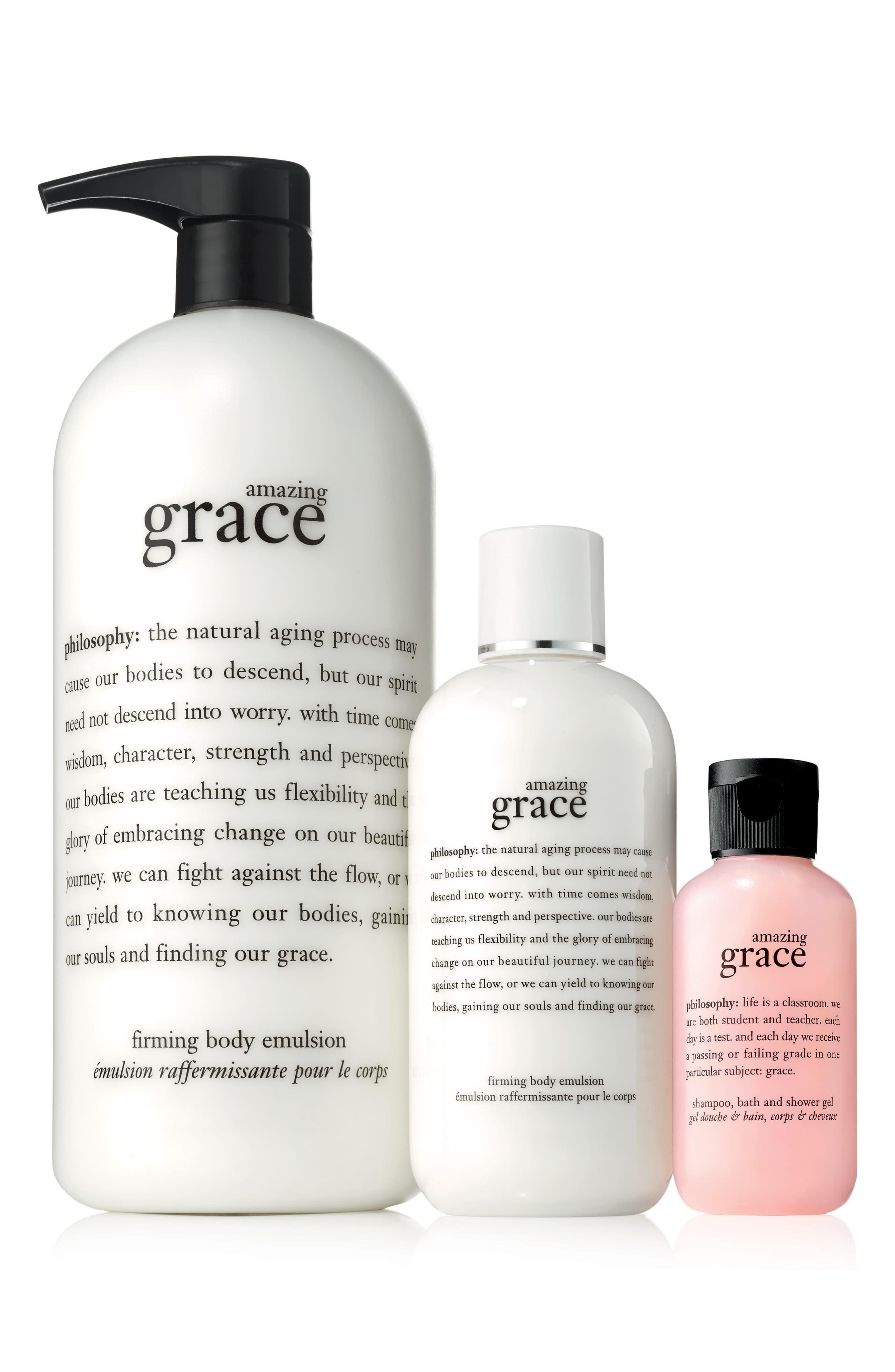 Philosophy Amazing Grace Body Emulsion Shower Gel Set Available At Nordstrom Nsale2019 55 Philosophy Amazing Grace Shower Gel Moisturizer For Dry Skin