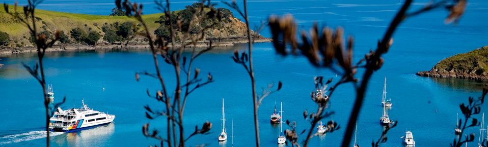 DO | Take the Fullers Ferry to Waiheke Island from Auckland. They also offer guided tours of the island, including winery tours!