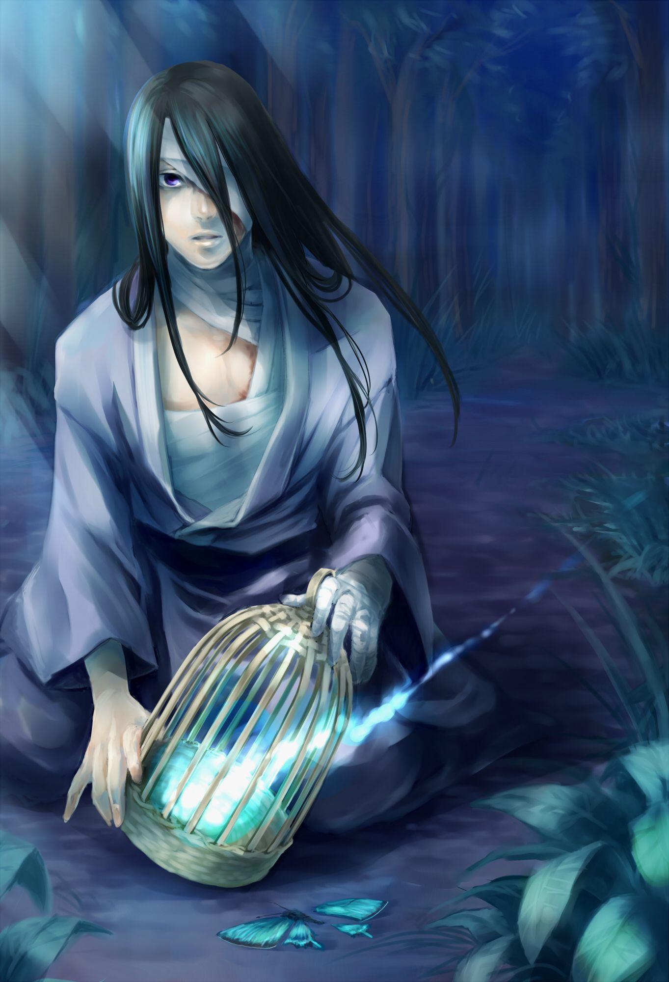 hot anime guys with long black hair Google pretraživanje