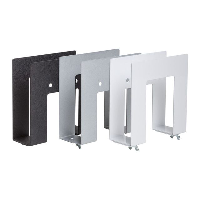 Wii Wall Mount Storage Bracket Nintendo Wii U Black