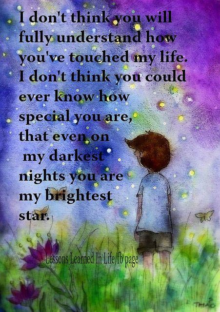 Theres Many Special People In My Lifethank You For Your Support