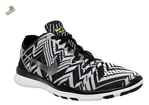 WMNS NIKE FREE 5.0 SZ 9.5 TR FIT 4 PRT 629832 017 Nike