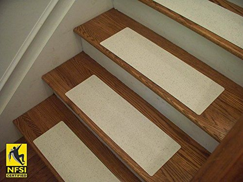 Essential Vinyl Stair Tread Sets   NFSI Certified High Traction Surface  (Slip Resistant), Peel And Stick   An Alternative To Carpet Stair Treads    Many ...