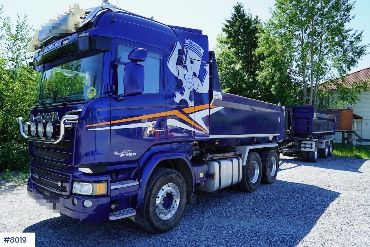 Tipper Scania Rengine Driveline Commercial Vehicle Trucks Power Take Off
