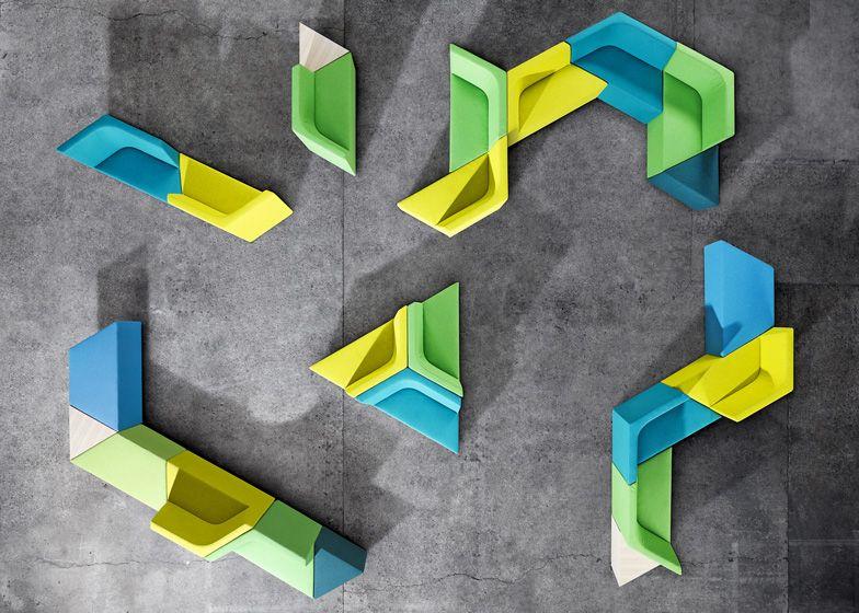 Prisma chairs by Alexander Lotersztain for Derlot Editions, via - designer couchtisch glas prisma