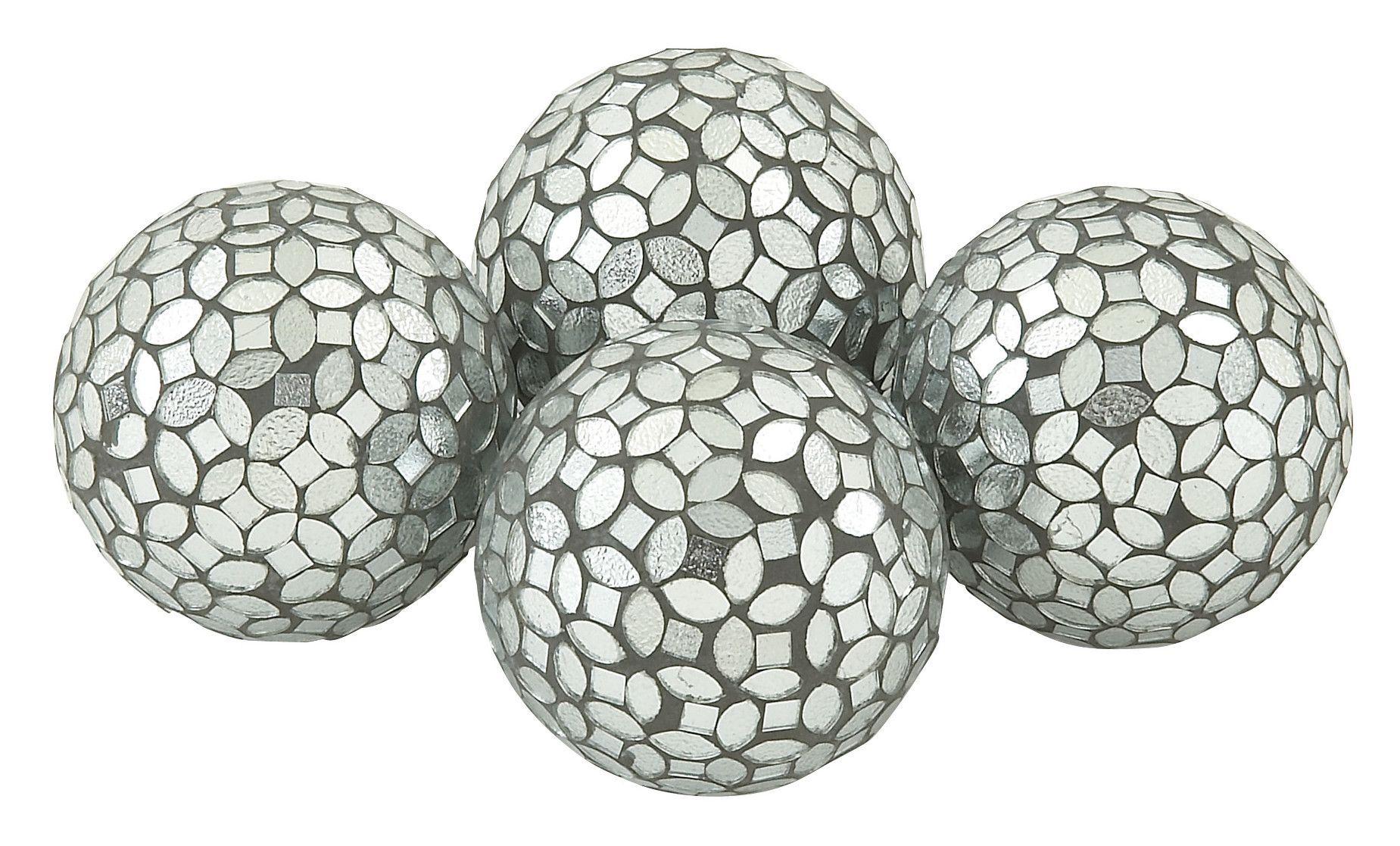 PVC Glass Mosaic Orb Decorative Ball