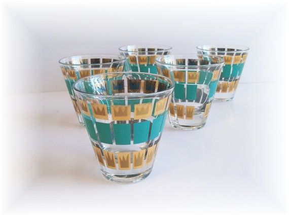 Vintage Barware Tumblers   Barware [In The Kitchen]