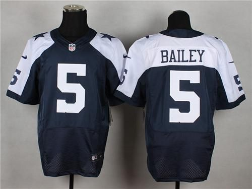 Nike Cowboys  5 Dan Bailey Navy Blue Thanksgiving Throwback Men s Stitched  NFL Elite Jersey And  nfl jersey orlando 700dfe3f2