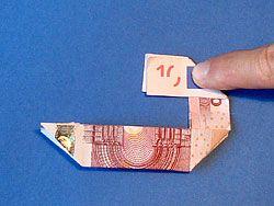 Zahlen Aus Geld Falten Geschenke Pinterest Diy