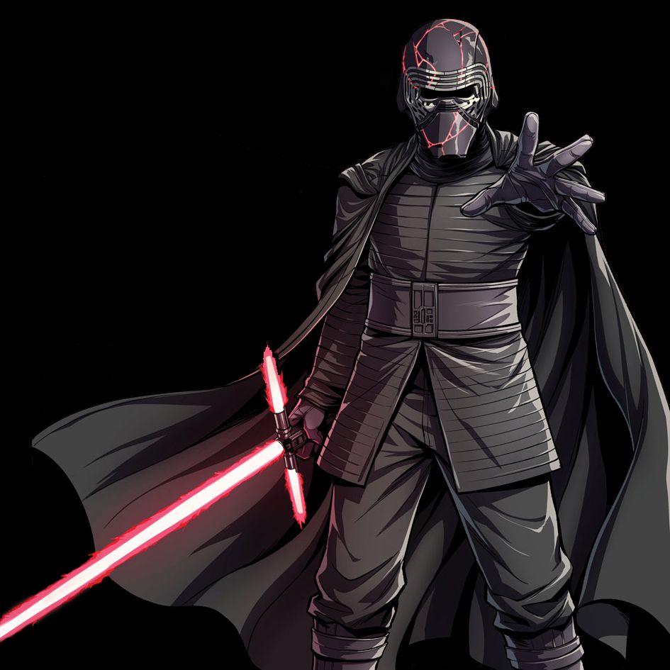 The Journey To Star Wars The Rise Of Skywalker Kylo Ren Cover Art Ren Star Wars Star Wars Wallpaper Star Wars Fan Art
