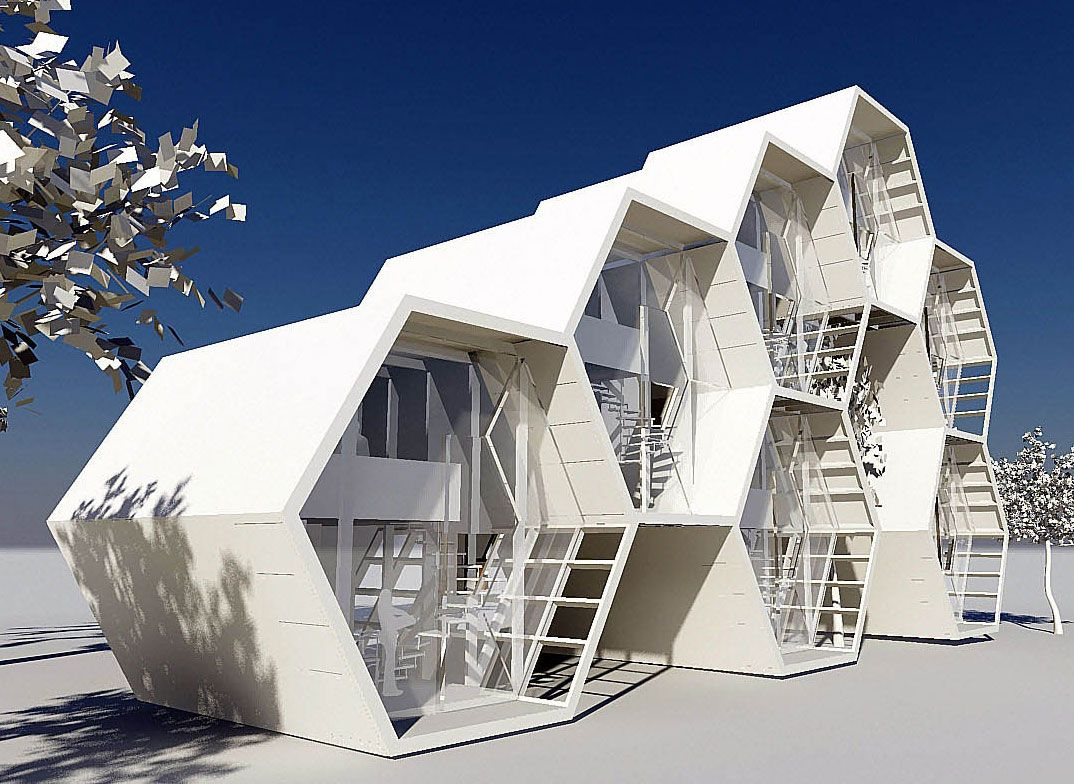Concepto grafeno loft arketiposchile architecture now for Architectural modular homes