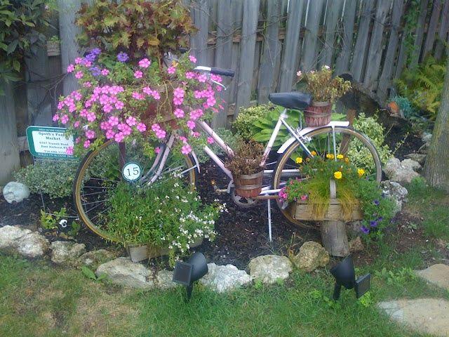 Bike no canteiro