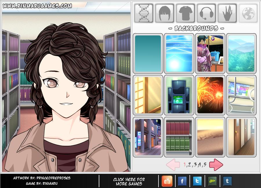 Rinmaru GamesMega Anime Avatar Creator