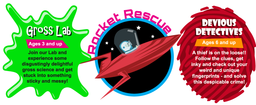 Dundee Science Centre Childrens Parties Rocket Rescue Now - Childrens birthday party ideas dundee