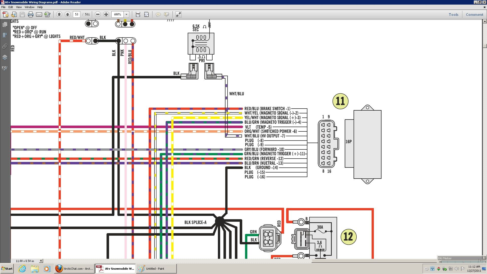 Polaris Scrambler 90 Wiring Diagram Tiger Life Cycle Image Result For Battery 2008