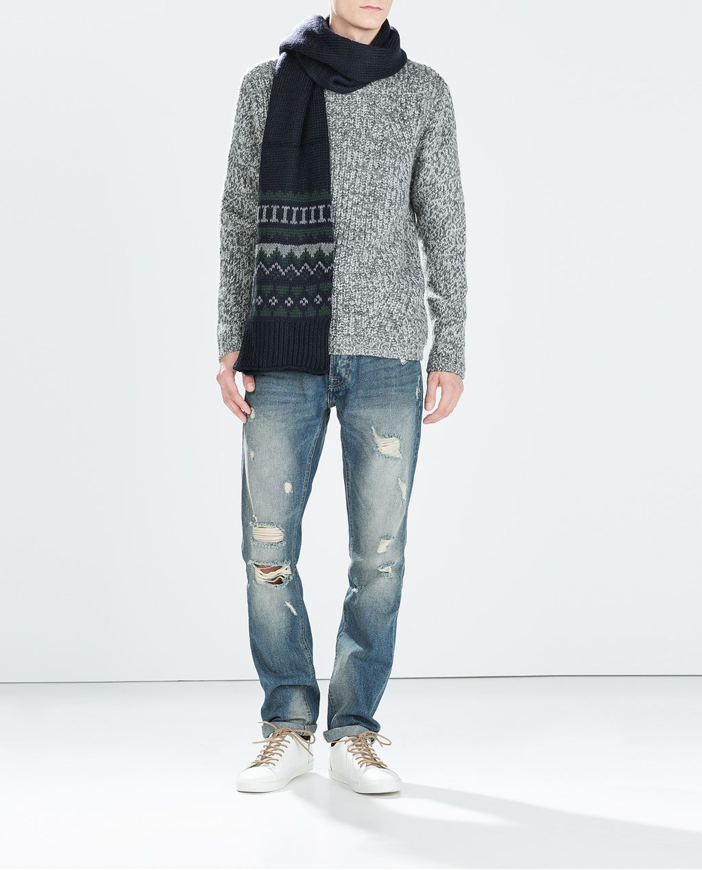 Image 1 Of Ripped Jeans From Zara Stuff To Buy Pinterest