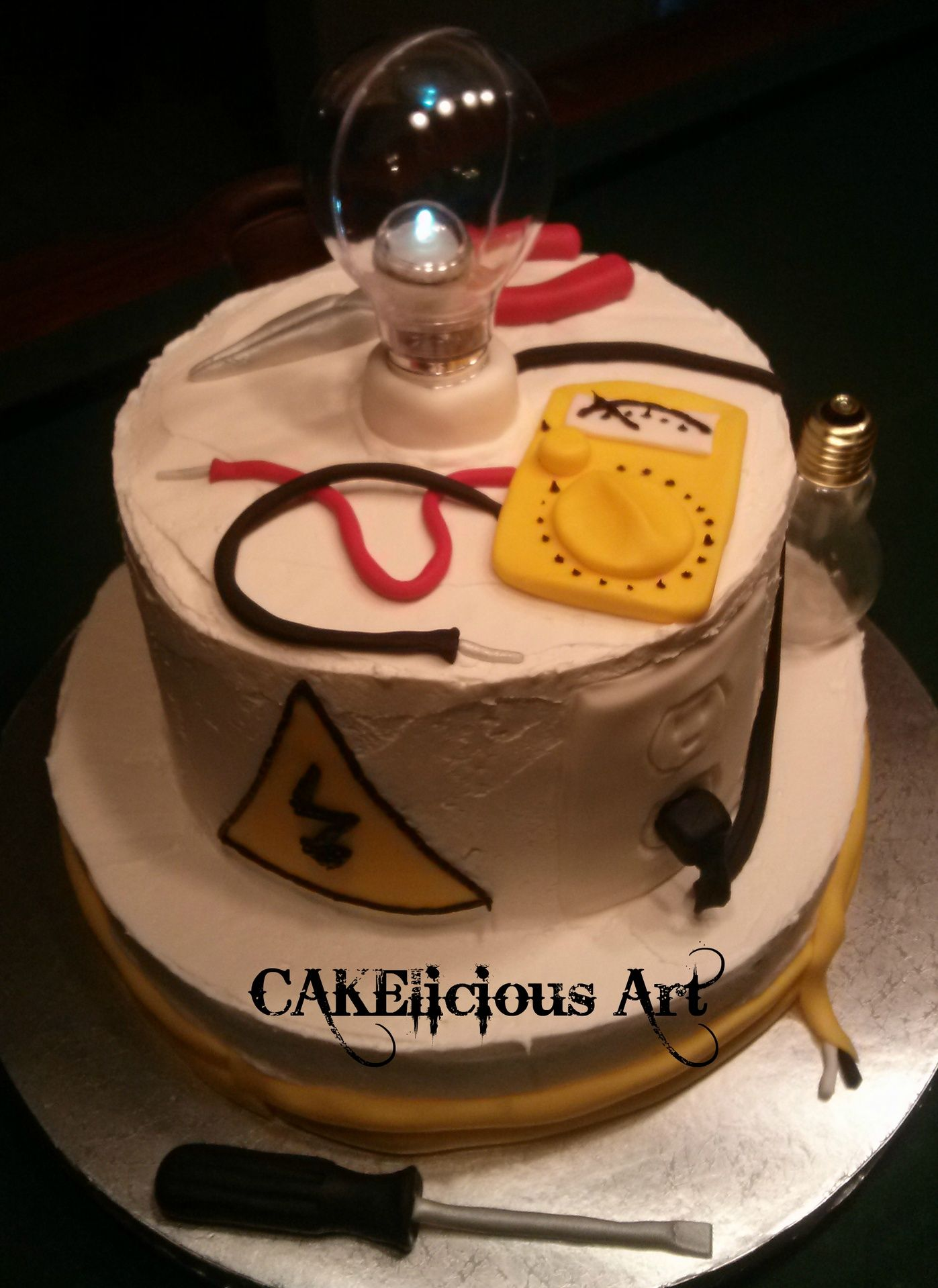 Electrician Birthday Cake Birthday Cakes By Cakelicious