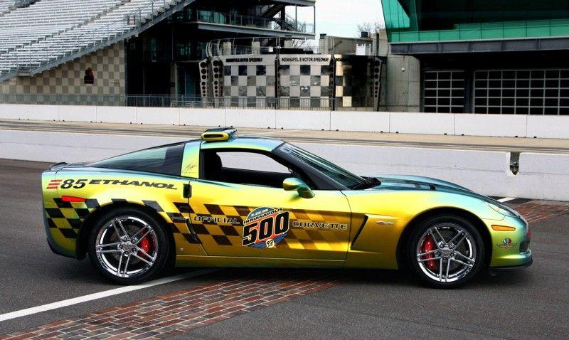 2008 E85 Corvette Z06 Indy 500 Pace Car Chevrolet Corvette