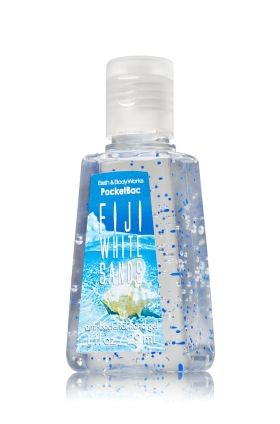 Fiji White Sands Pocketbac Sanitizing Hand Gel Bath Body
