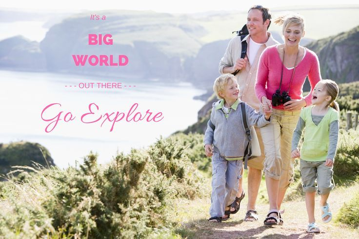 Its a big world out therego explore with explore cruise