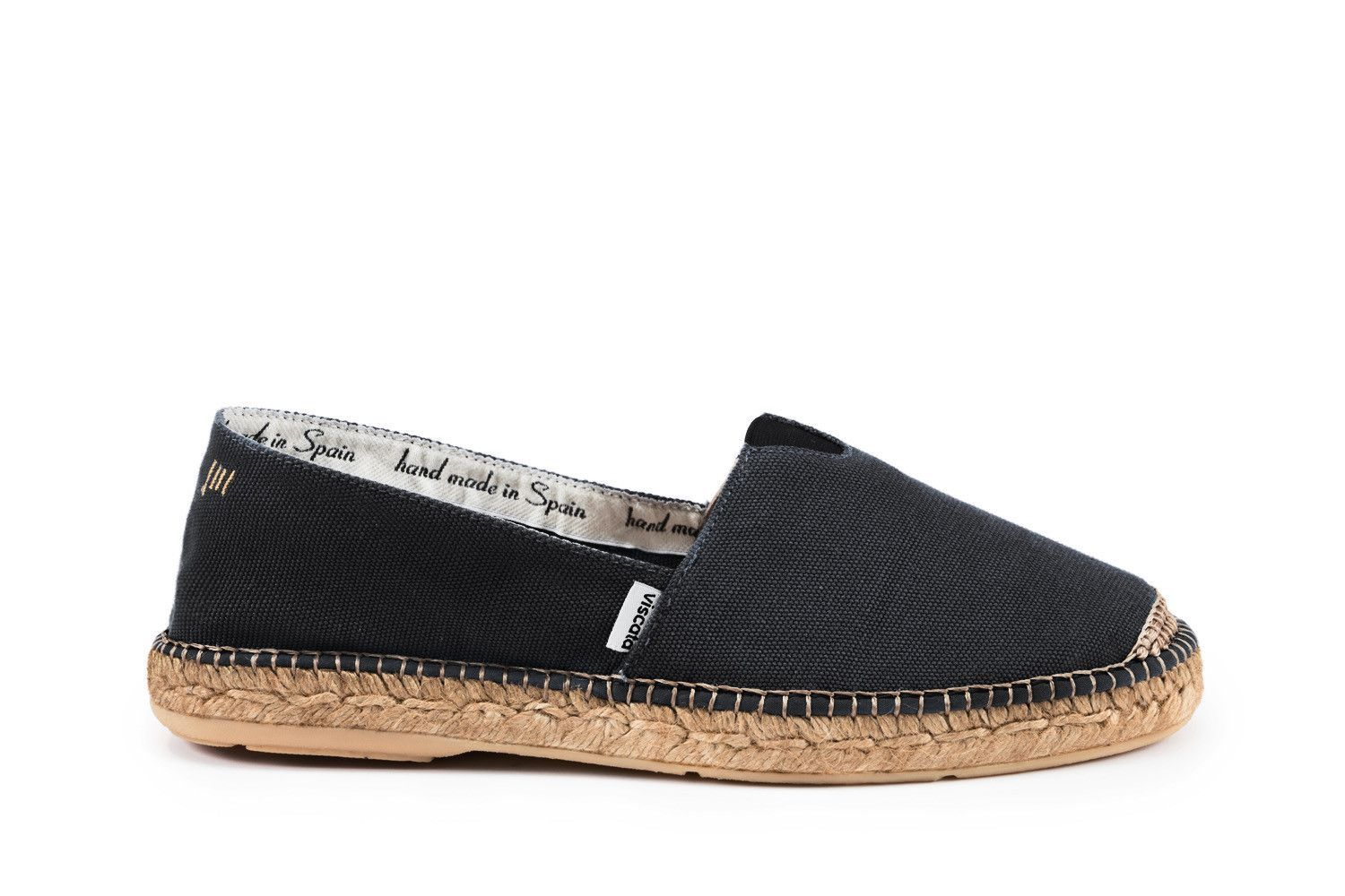 974f977de8f Barcelona Canvas Espadrilles - Black (w/ Elastic Inseam) | Products ...