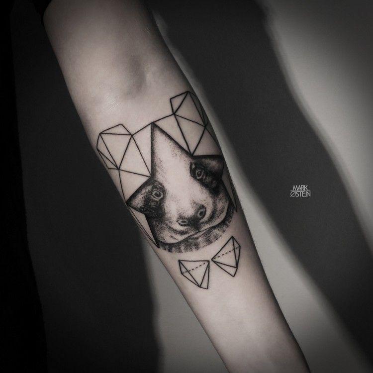Tatouage Animaux Geometrique Avant Bras Kolorisse Developpement