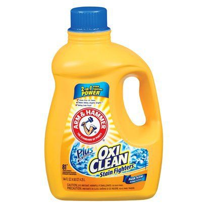 Arm Hammer Liquid Laundry Detergent With Oxi Clean 138 Oz Laundry Detergent Liquid Laundry Detergent Dishwashing Liquid