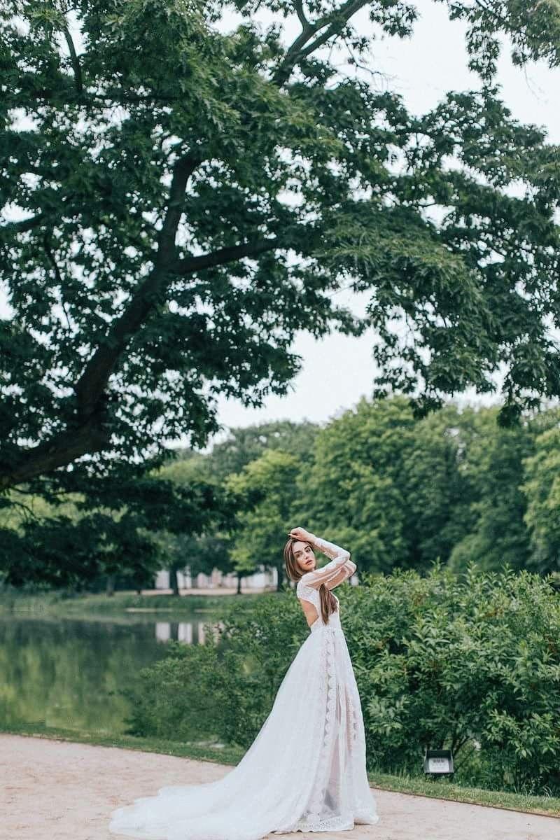Boho wedding dress wedding dresses galina krasnova