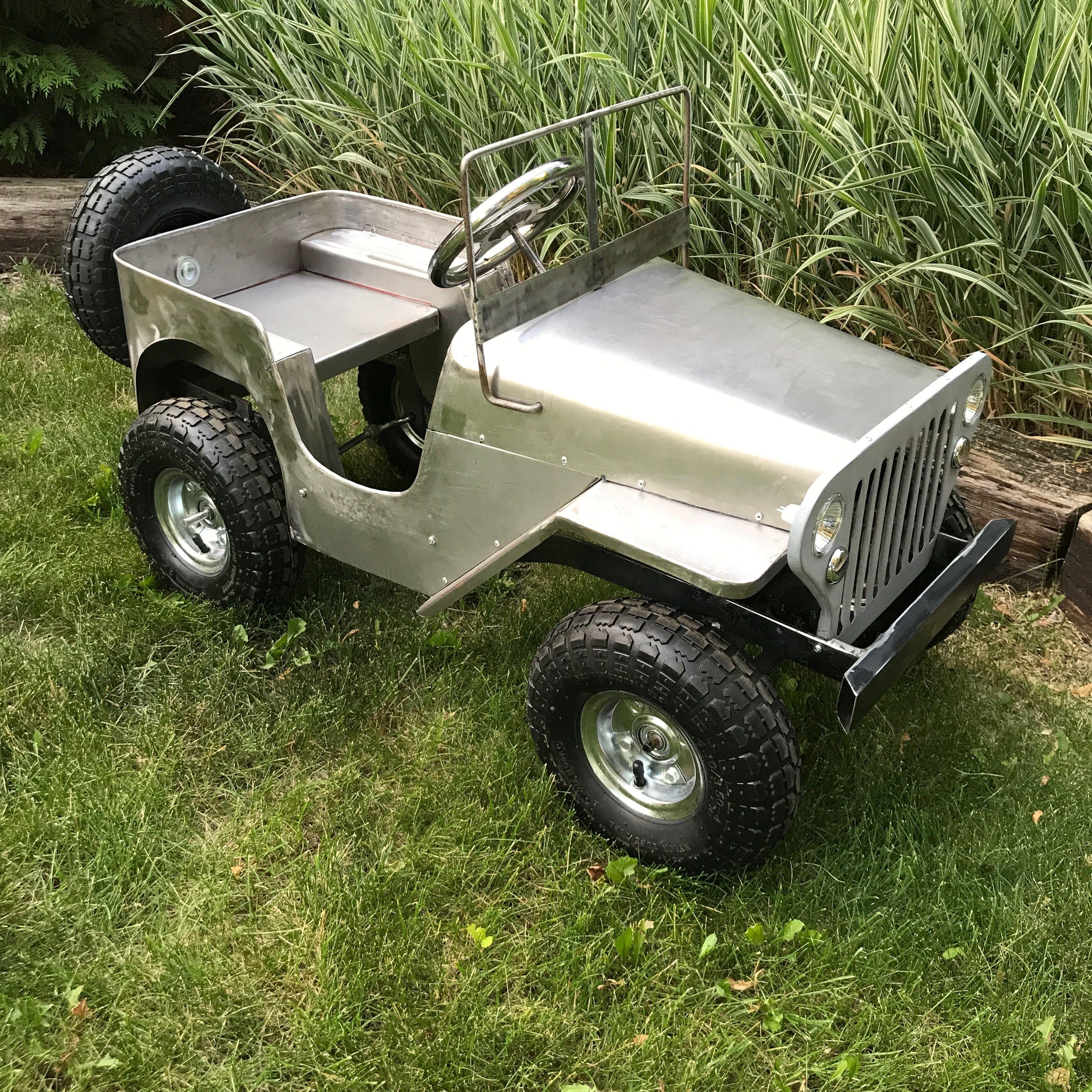 Pedal Car Jeep Home Built Mini Jeep Pedal Cars Go Kart Plans
