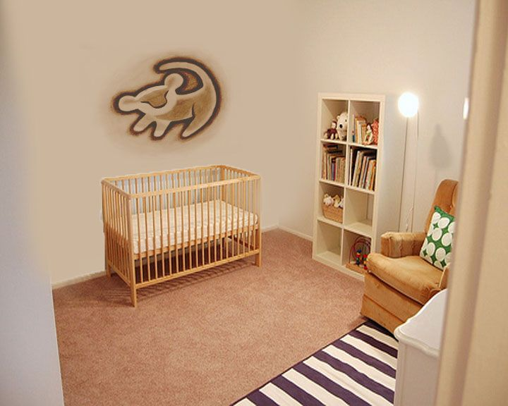 I M So In Love With A Lion King Themed Room For This Baby: Lion King Theme For A Baby's Room