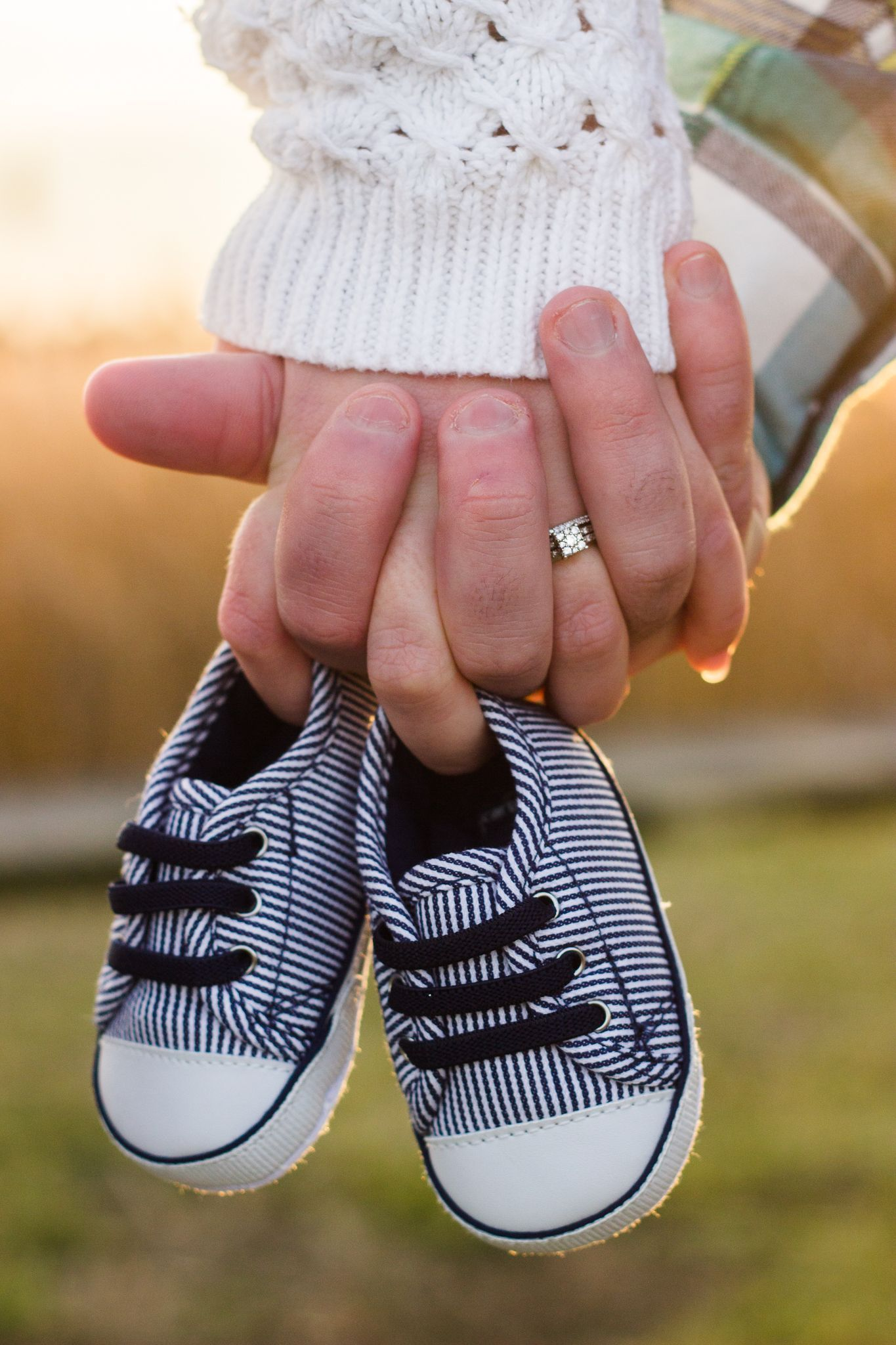 Photo of Baby Announcement Maternity Photography Baby Shoes – In the first months I …