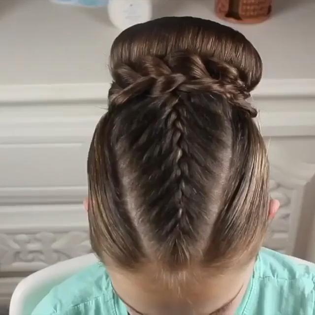 Braided Bun 😍😍🙌🏽 By: Tousledandta - Hair Beauty