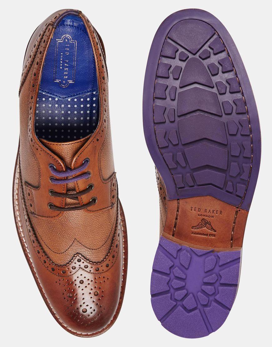 a67a7d142a4231 Ted Baker Cassiuss Brogue Shoes from ASOS