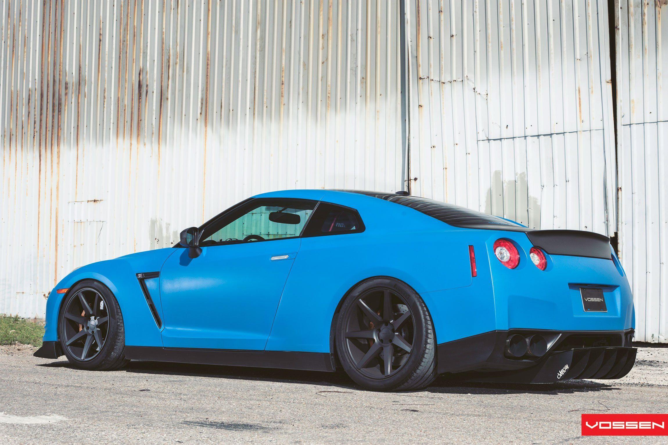 Baby Blue Nissan Gt R Gets A Distinct Look With Custom Goodies Car