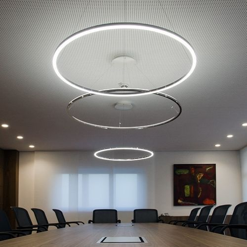 Modern LED Acrylic Round Pendant Chandelier Ceiling Lamp Lighting - k chenr ckwand glas mit led
