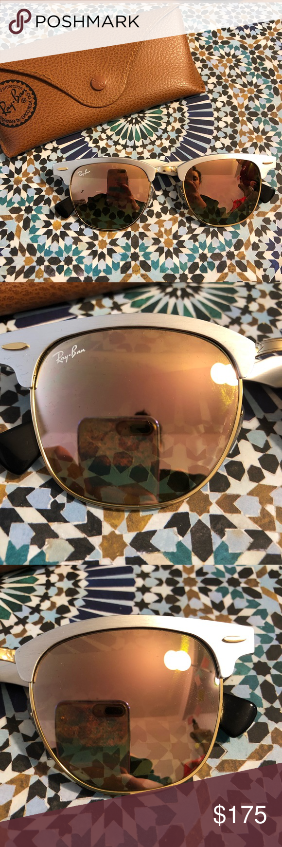 4f65242465ced Ray Ban RB3507    Clubmaster Aluminum Brand New Ray-Bans. Comes in new