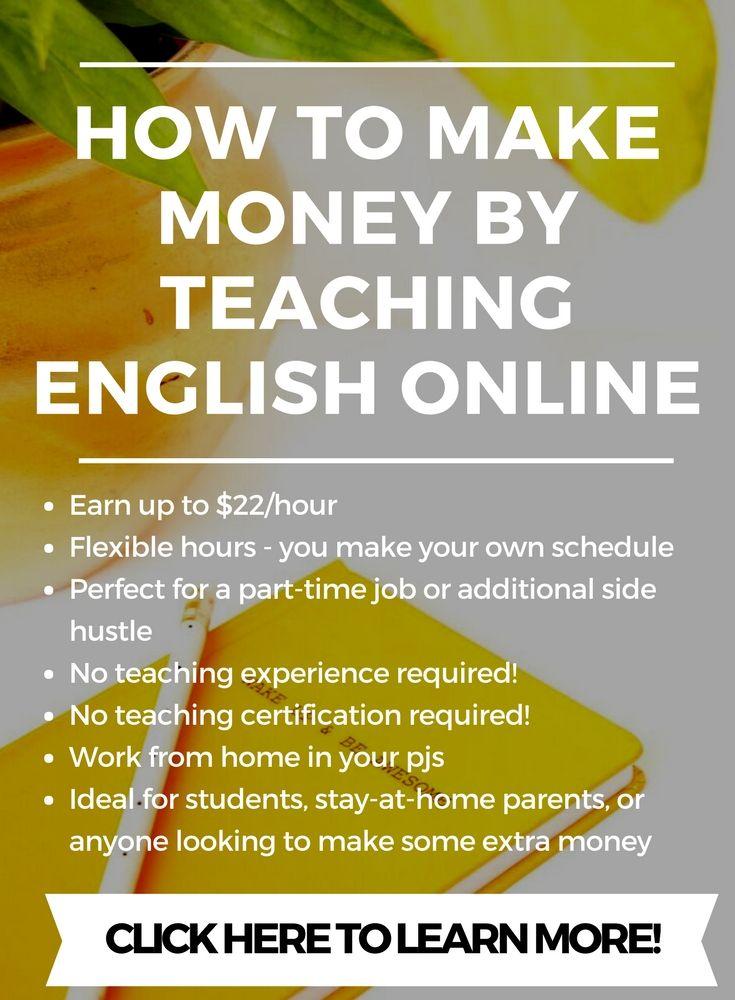 teach online, make money, make money online, vipkid, alo7, 51talk ...