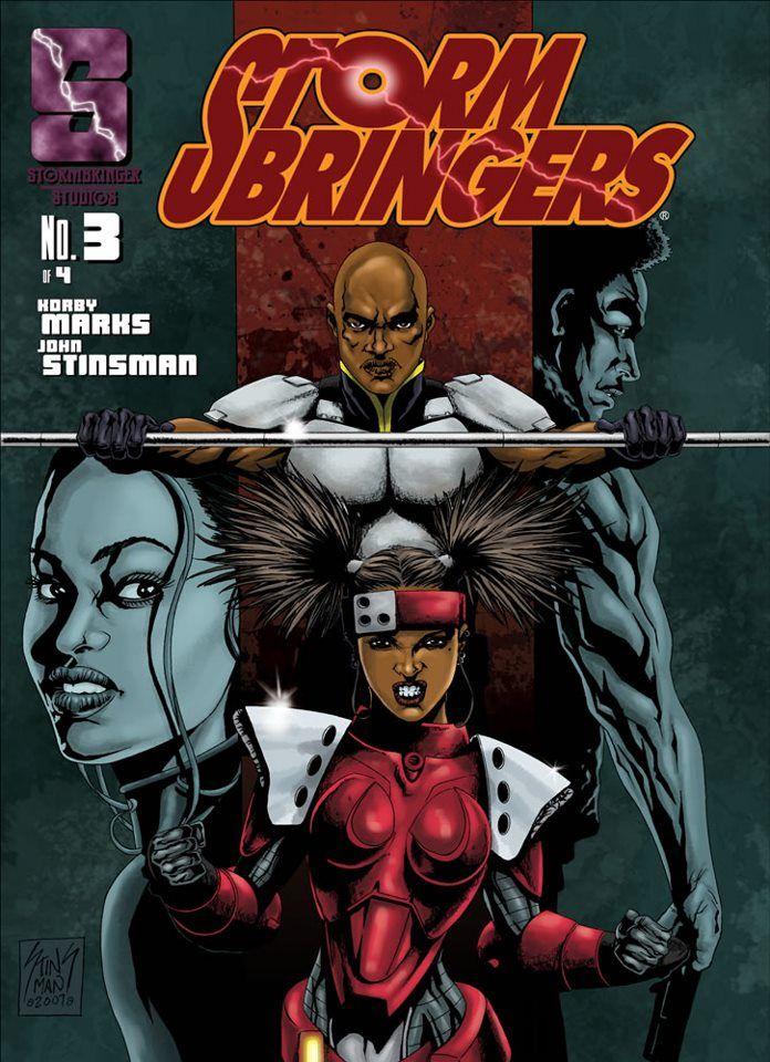 STORMBRINGERS Black comics, Afrofuturism, Indie comic