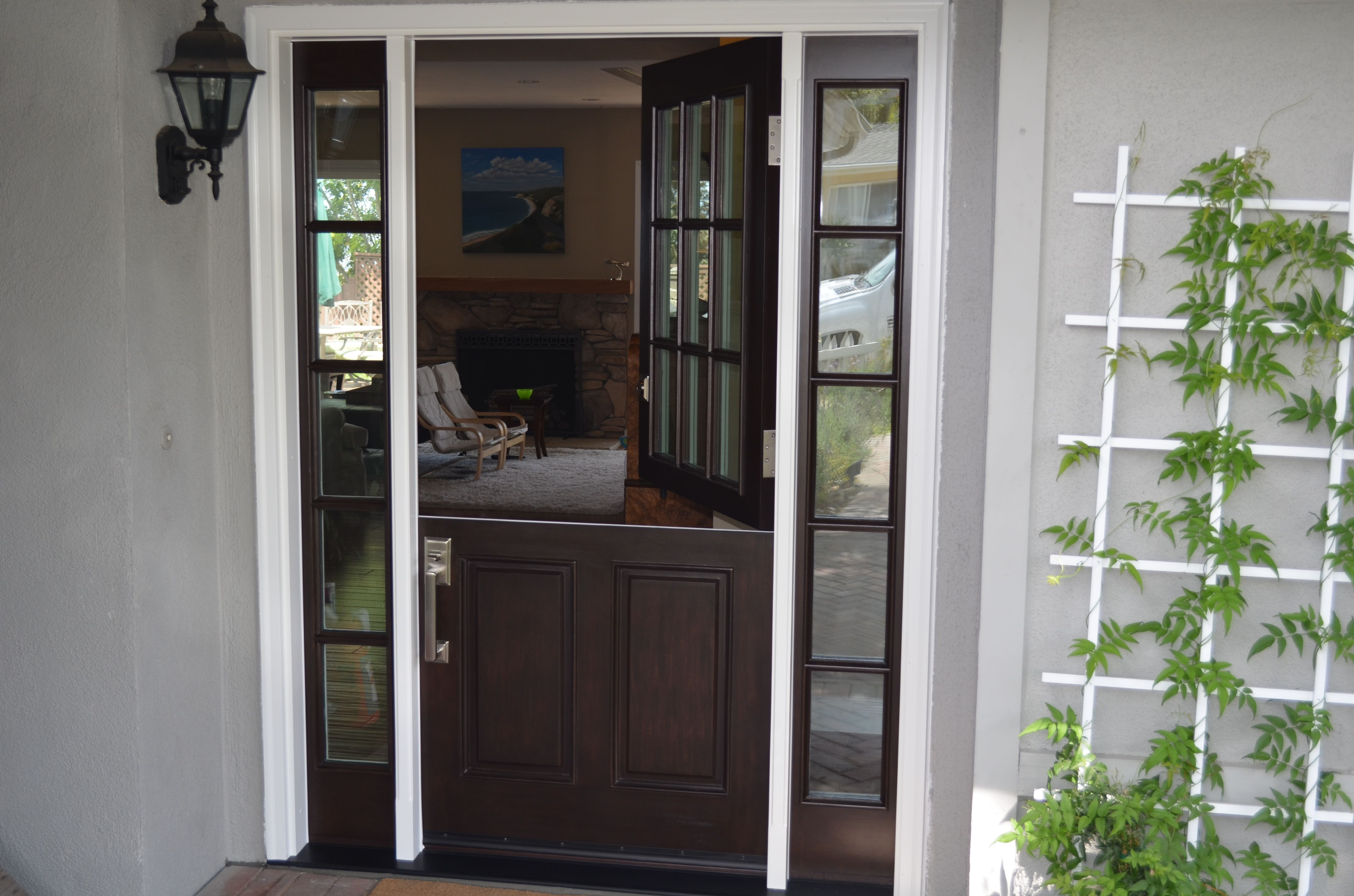 Here is the after, everyone loves a Dutch door. www ...